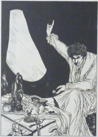 IHO Books Behind the Veil by Ethel Wheeler illustrated by Austin Osman Spare