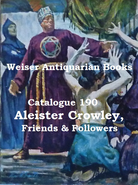 Catalogue 190: Aleister Crowley, Friends & Followers