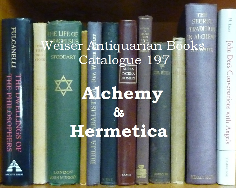 Catalogue 197: Alchemy and Hermetica