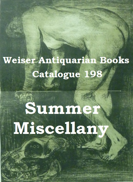 Catalogue 198: Summer Miscellany