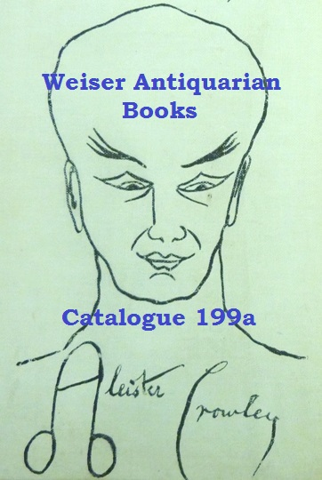 Catalogue 199A: Aleister Crowley