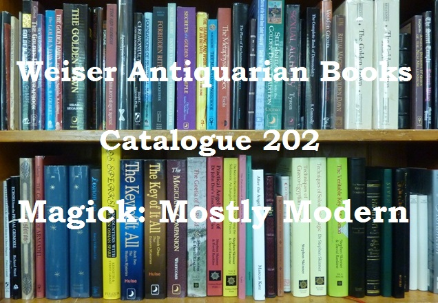 Catalogue 202: Magick, Mostly Modern