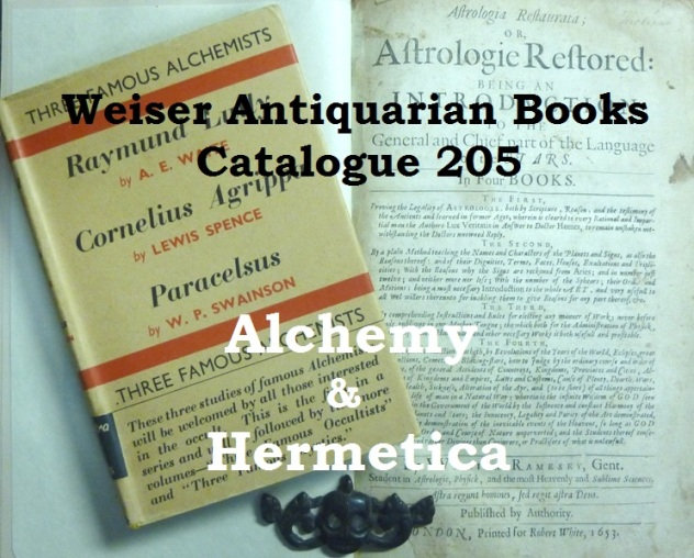 Catalogue 205: Alchemy and Hermetica