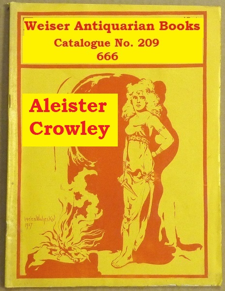 Catalogue 209: Aleister Crowley