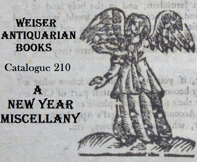 Catalogue 210: New Year Miscellany