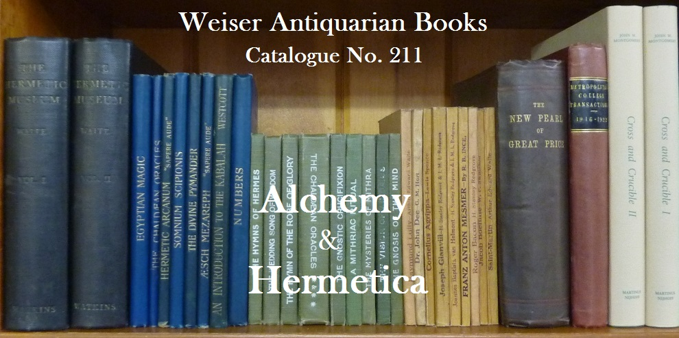 Catalogue 211: Alchemy and Hermetica