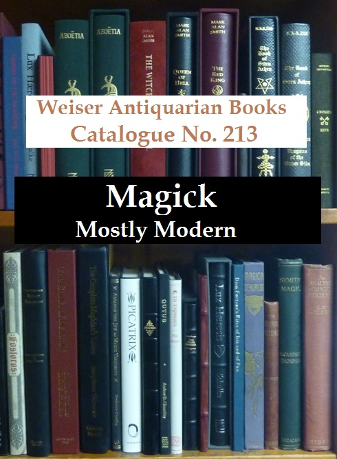 Catalogue 213: Magick, Mostly Modern