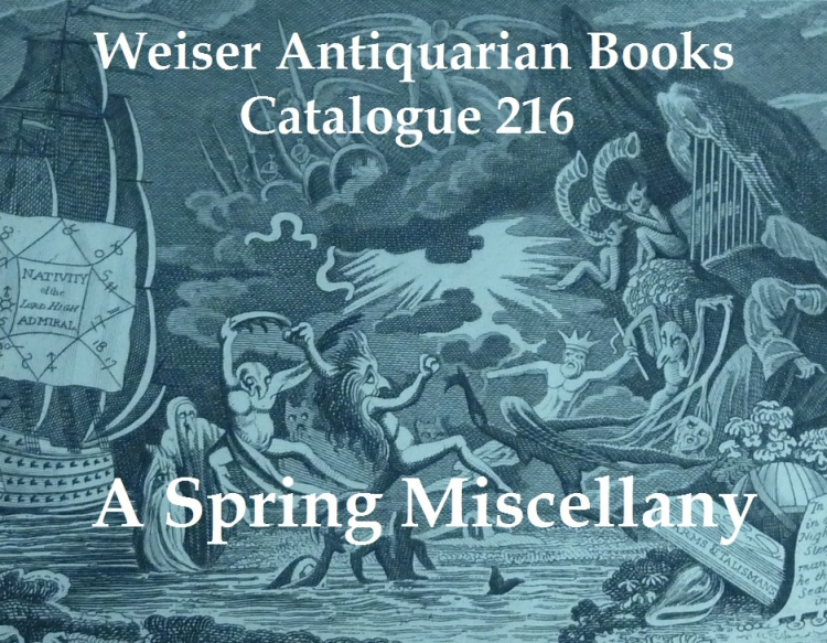 Catalogue 216: Spring Miscellany
