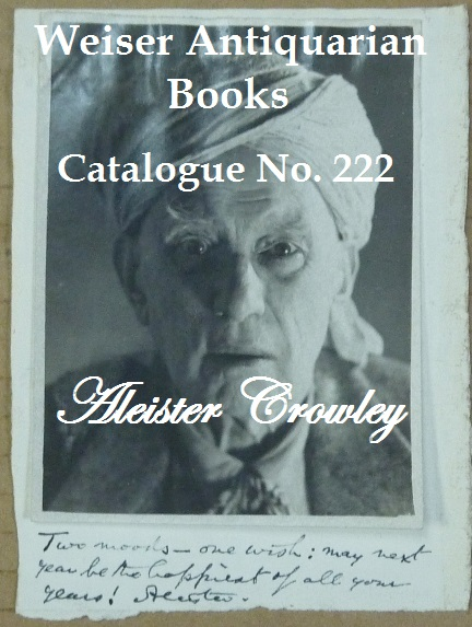 Catalogue 222: Aleister Crowley