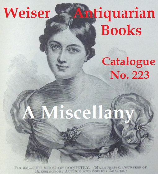 Catalogue 223: A Miscellany