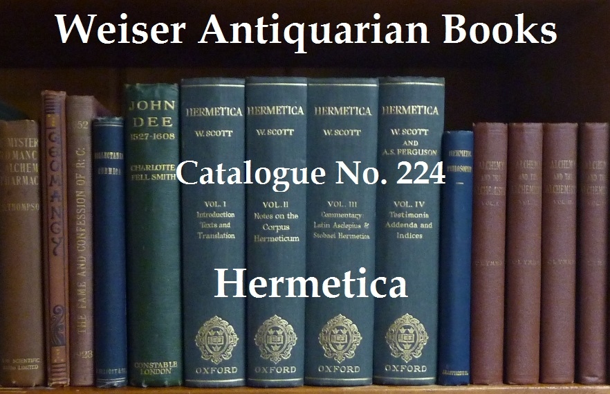 Catalogue 224: Hermetica and Mysticism