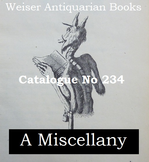 Catalogue 234: A Miscellany