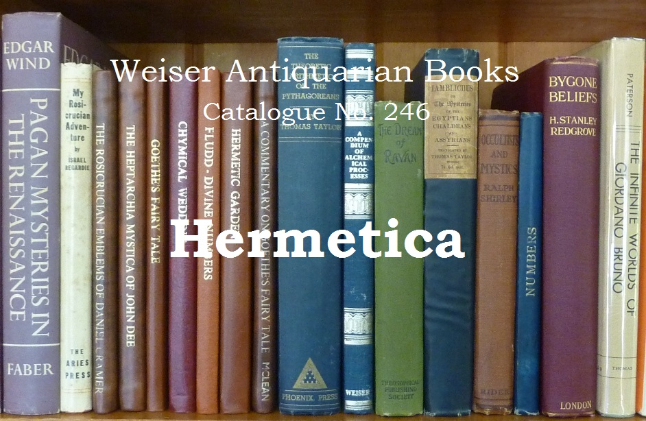 Catalogue 246: Hermetica