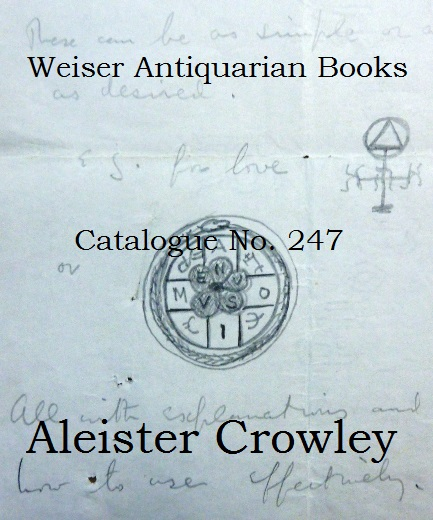 Catalogue 247: Aleister Crowley