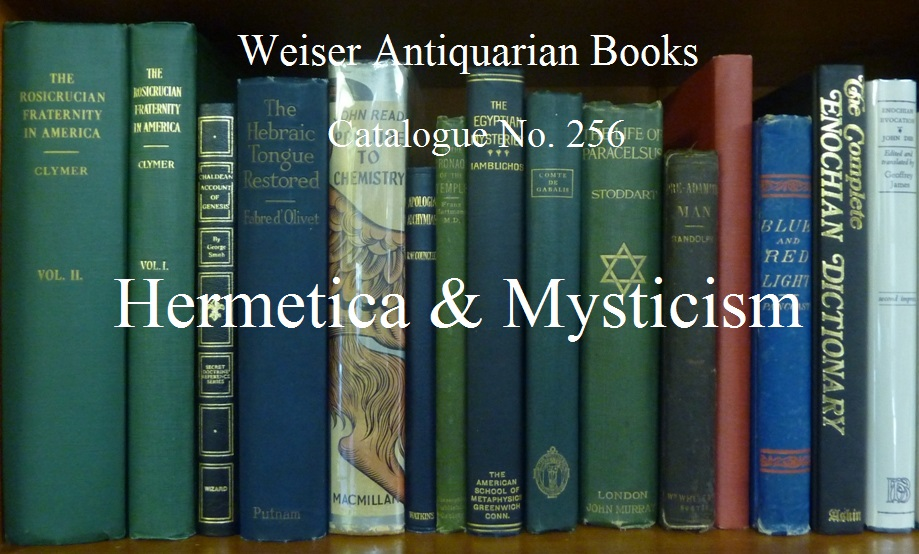 Catalogue 256: Hermetica & Mysticism