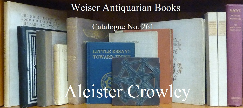 Catalogue 261: Aleister Crowley
