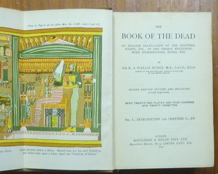 the book of the dead translation