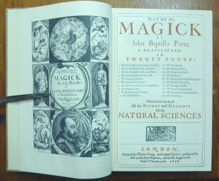 Natural Magick  in Twenty Books: Wherein are set forth All