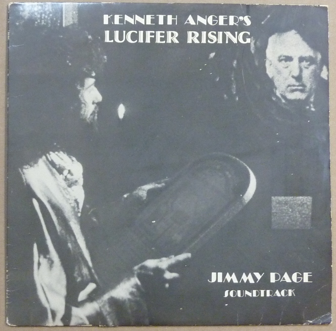 Kenneth Anger S Lucifer Rising Jimmy Page Soundtrack A 12