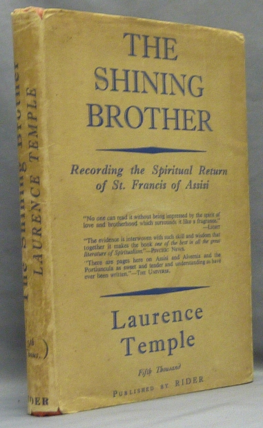 The Shining Brother. Laurence TEMPLE, Inscribed and signed.