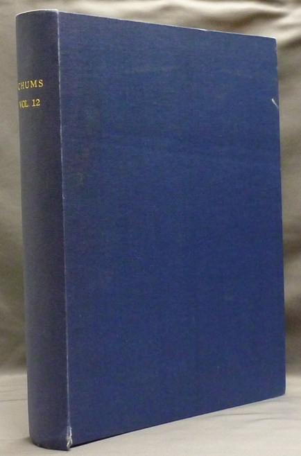 Chums - Bound volume of 52 issues: #571 (August 19, 1903) - #622 (August 10, 1904). SPARE: Austin Osman: related works, authors.