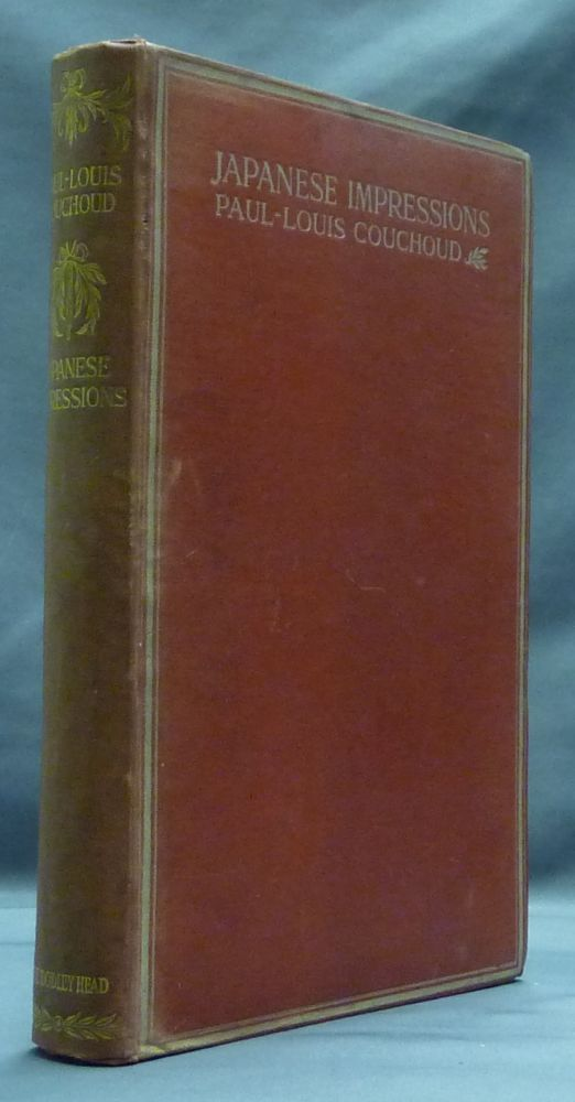 Japanese Impressions, with a note on Confucius. Frances Rumsey., Anatole France.