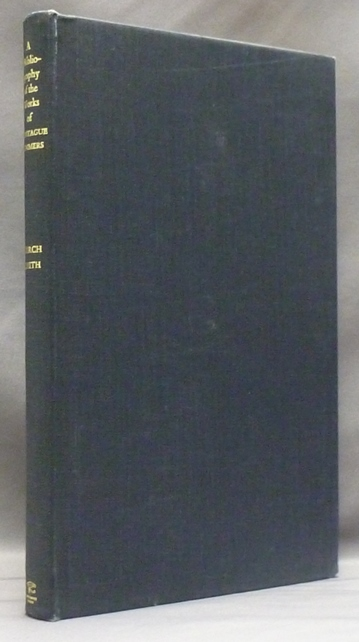 A Bibliography of the Works of Montague Summers. Montague Summers, Timothy D'ARCH SMITH, Father Brocard Sewell.