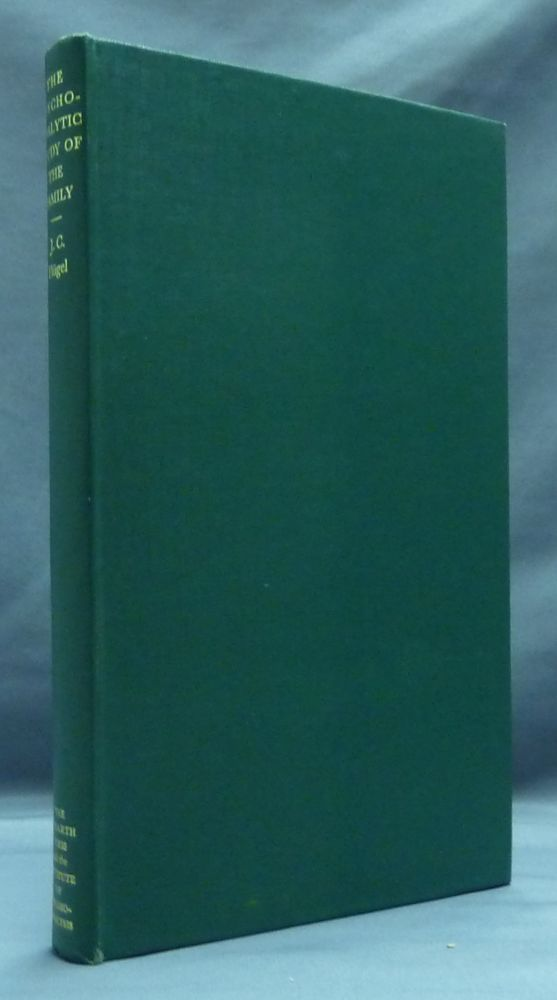 The Psycho-Analytic Study of the Family ( The International Psycho-Analytical Library No. 3 ). J. C. FLUGEL, Ernest Jones.