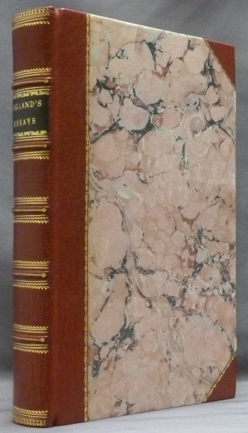 Essays on Various Subjects. Vol. I and Vol. II ( 2 volumes in one ). J. BIGLAND.