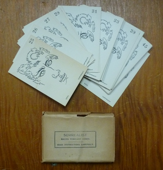 Surrealist Racing Forecast Cards. Austin Osman SPARE.