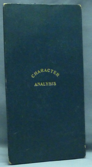 Newcomb's Graphochart of Character Analysis. The Scientific Analysis of Men and Women by a Simple and Practical Method. Character Analysis Chart, Morton M. NEWCOMB.