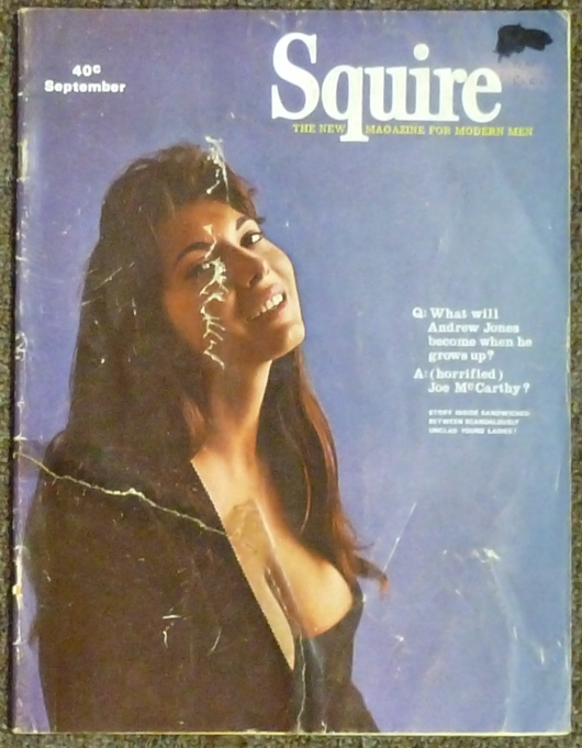 """""""Witchcraft in England"""" article in """"Squire: The New Magazine for Modern Men,"""" Vol. 3, No. 11, September 1967. Jack DE LISSA."""