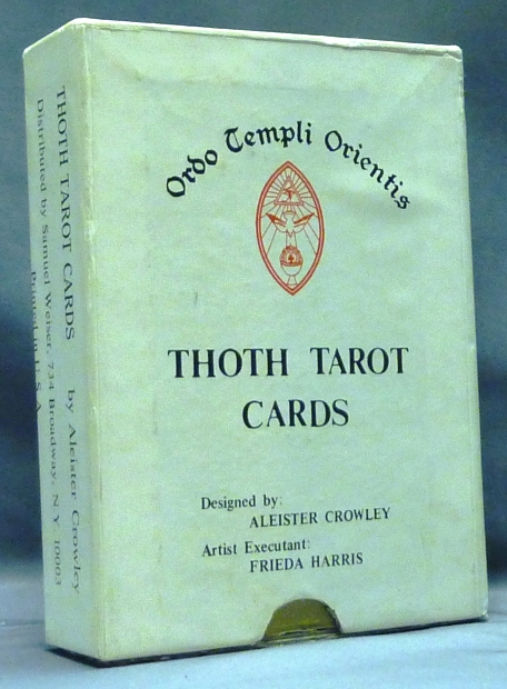 Thoth Tarot Cards First US Color Printed Version - Samuel