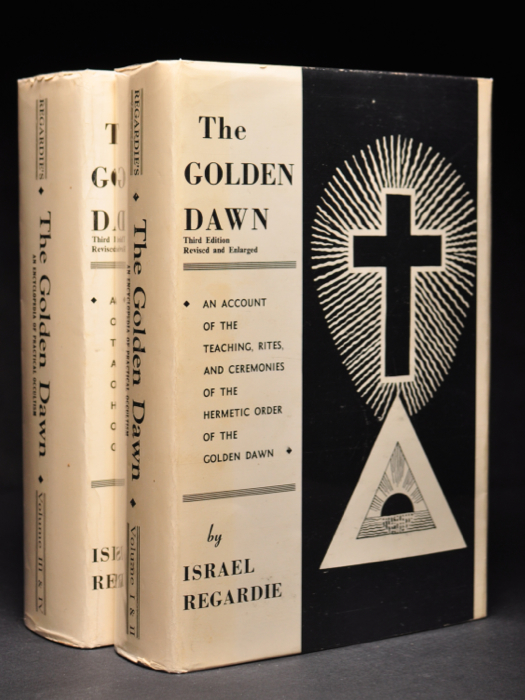 The Golden Dawn, An Account of the Teachings, Rites, and Ceremonies of the Hermetic Order Of The Golden Dawn [ 4 Volumes in 2 ]. Frater association ACHAD, Israel REGARDIE.