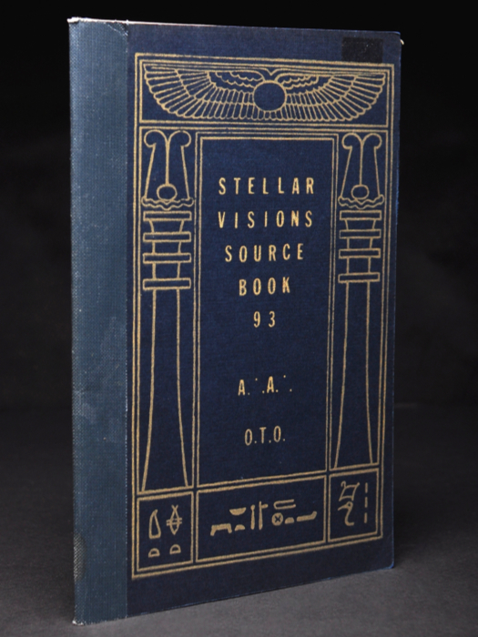Stellar Visions Source Book 93 | Aleister CROWLEY, Frater 137, Ebony