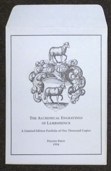 The Alchemical Engravings of Lambsprinck Redrawn By Joel Radcliffe [ The Book of Lambspring ]. ANONYMOUS, Joel Radcliffe.