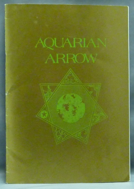 Aquarian Arrow, No. 31. Zachary COX, contributors, Steve Wilson related Aleister Crowley.