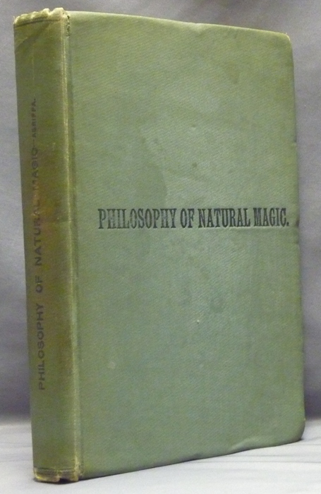 Three Books of Occult Philosophy or Magic  Book One