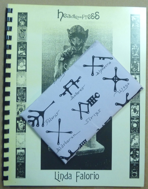 The Shadow Tarot (Book & tarot deck). Linda - Signed. With Fred Fowler FALORIO, Kenneth Grant related works.