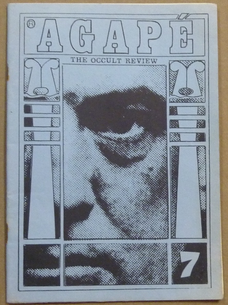 Agapé. The Occult Review. Volume 1, No. 7 [ Agapé. A Quarterly Occult Review ]. Aleister CROWLEY, related works, K. A. Meyers, Andrew Drylie.