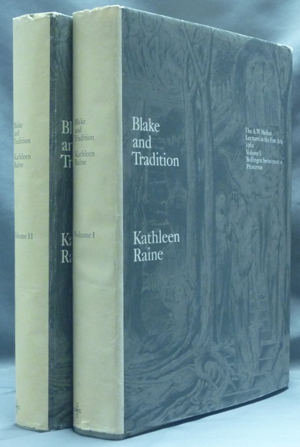 Blake and Tradition. The A.W. Mellon Lectures in the Fine Arts. Bollingen Series XXXV: 11 (2 Volume Set). William BLAKE, Kathleen Raine.