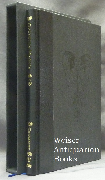Opuscula Magica. Volume I: Essays on Witchcraft and the Sabbatic Tradition. introduction Text, illustrations, Daniel Schulke, Andrew D. CHUMBLEY, Michael Howard.