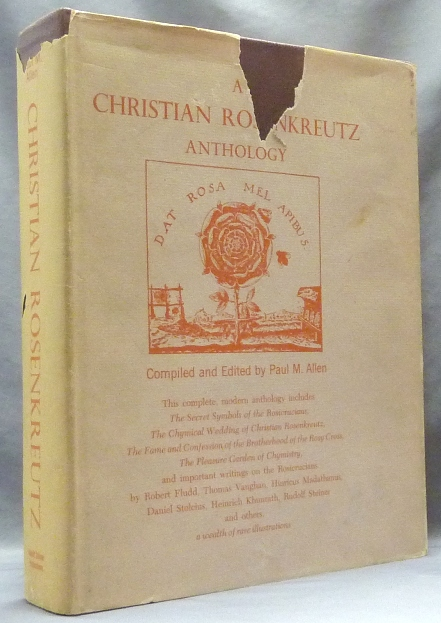 A Christian Rosenkreutz Anthology. Compiled, edited, Paul M. in collaboration ALLEN, Carlo Pietzner.