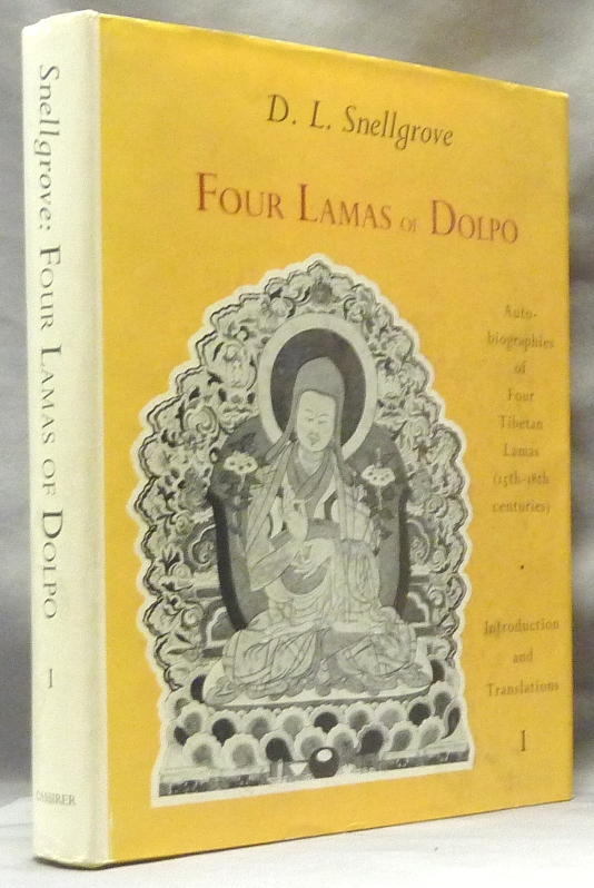 Four Lamas of Dolpo; Tibetan Biographies. Volume I: Introduction & Translations. David L. SNELLGROVE, Edited and translated.