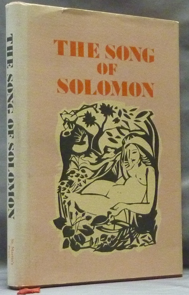 The Song of Solomon. ANON, Song of Solomon.