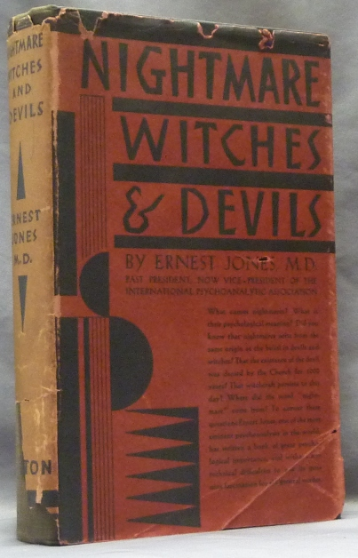 Nightmare, Witches and Devils. Ernest JONES, M D.