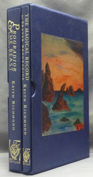 Progradior and the Beast: Frank Bennett and Aleister Crowley, AND The Magical Record of Frater Progradior & other Writings; (Two Volumes in Slipcase). Aleister CROWLEY, Frank BENNETT, Keith RICHMOND.