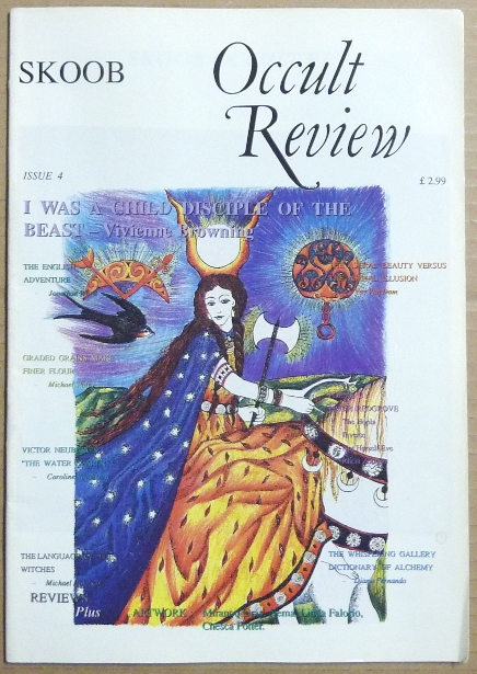Skoob Occult Review. Issue 4, 1991. Occult, Christopher JOHNSON, Caroline Wise, Steve Wilson authors including Michael Staley, Linda Falorio, among others.