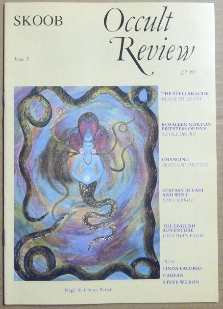 Skoob Occult Review. Issue 5, 1991. Occult, Christopher JOHNSON, Caroline Wise, Steve Wilson authors including Kenneth Grant, Linda Falorio, Nevill Drury among others.