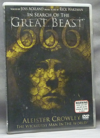 In Search of the Great Beast. Aleister Crowley the Wickedest Man in the World [ DVD in case, Documentary film ]. Joss - ACKLAND, Music, Rick Wakeman, Aleister Crowley.